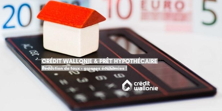 Prêt hypothécaire : une réduction de taux, aussi basse soit-elle, permet de grandes économies !