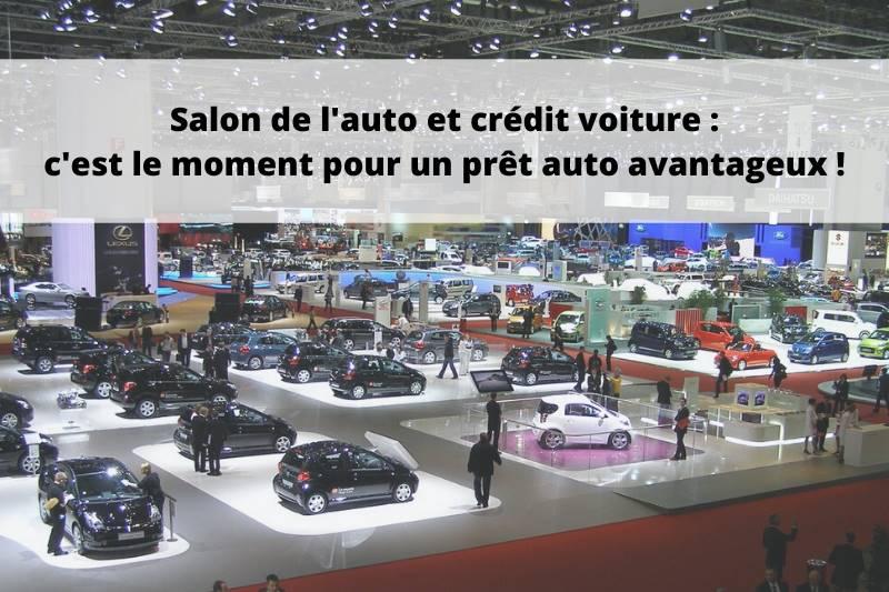 Salon de l'auto et crédit voiture